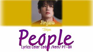 Jinjae (진재) Sky High (스카이하이그) 'People' (사람) [Lyrics Color Coded/Rom/PT-BR]