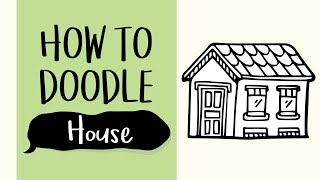 How to Draw a House (Easy Step by Step Drawing and Coloring Tutorial For Kids)