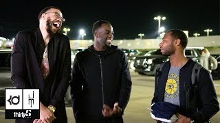 JaVale McGee's Parking Lot Chronicles Episode 5: Trash Talk with Draymond Green and More