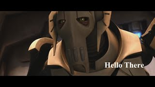 General Grievous being a meme for 15 mins