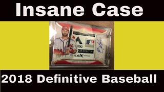 INSANE 1/1! 2018 Topps Definitive Baseball Case #4