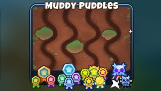First Ever Muddy Puddes BLACK BORDER! (Bloons TD 6)