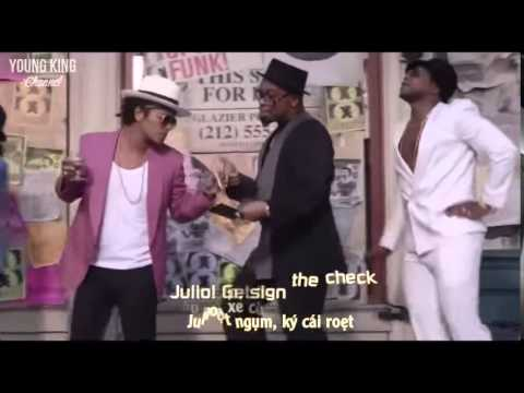 Uptown Funk -  Mark Ronson Ft Bruno Mars Lyrics Vietsub & Engsub