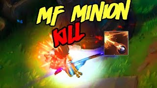 MISS FORTUNE MINION KILL | League of Legends funny moments.