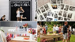 10 Graduation Backyard Party Ideas Video