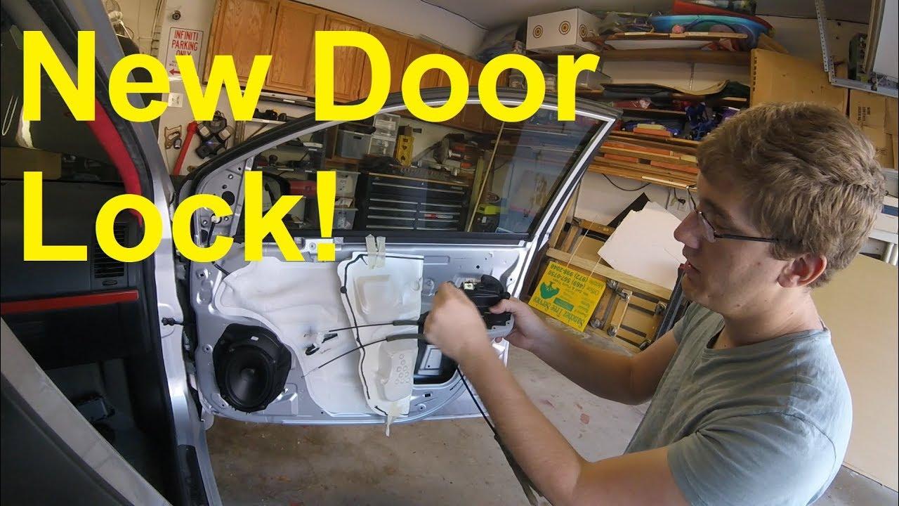 2011 Nissan Sentra Door Lock Replacement