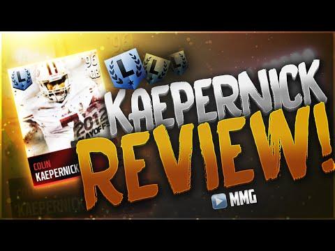 Legend Colin Kaepernick Gameplay/Review! (I'm Buns) Madden Mobile 16