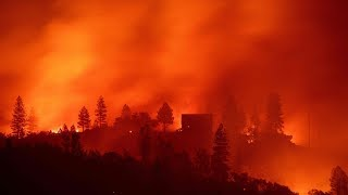 DIREKTE: Se skogbrannens herjinger i California