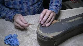 203 RSW Restoring a 102 Year Old Guitar Case