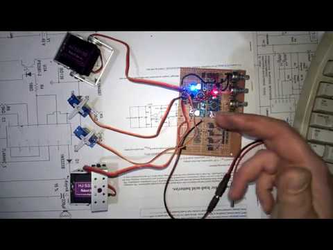 Arduino 4 servo driver and 12v motor driver [wiper motor] at the same time