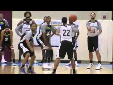 Real Training Camp - New Orleans Hornets [10-4-2012]