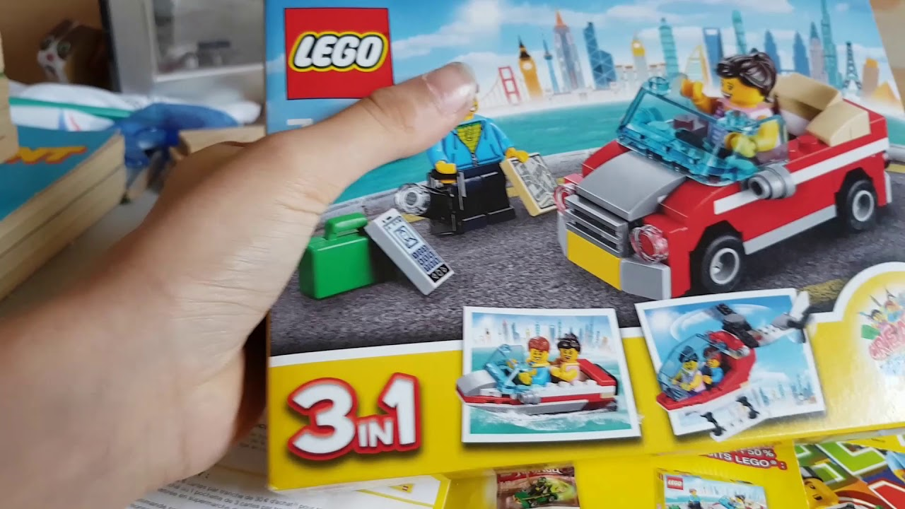 Carte Lego Auchan Livre.Lego Auchan Cree Ton Monde Youtube