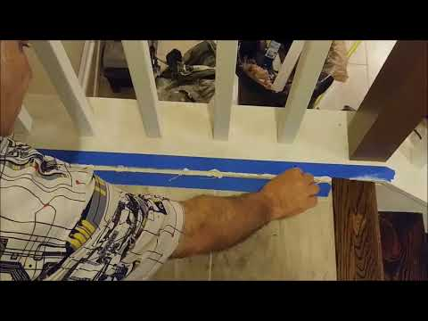 How To Install a Metal Trim between Tile And Hardwood Floor - Waterproof T Shaped  Transition