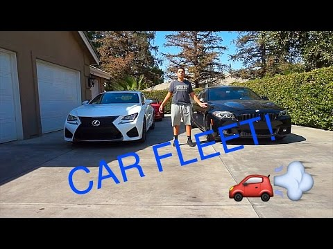 MY CAR FLEET!!!