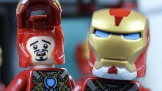 Magnetic Iron Man - a LEGO brickfilm by MonsieurCaron