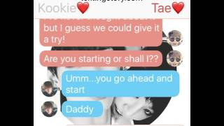Vkook Text Imagine (Sexting..?) (5)