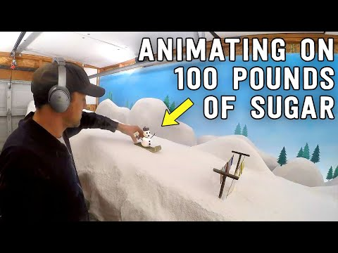 It took 100 POUNDS of SUGAR to Make this STOP-MOTION Film