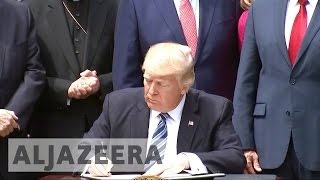 Trump's new executive order relaxes rules on religious advocacy