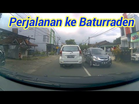 Trip perjalanan menuju ke Baturaden Purwokerto