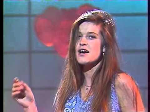 Corynne Charby  A pile ou face Christophe Dechavanne  29 mai 1987