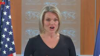 VERY SUSPICIOUS OF RUSSIA: Heather Nauert Department Press Briefing on President Donald Trump News