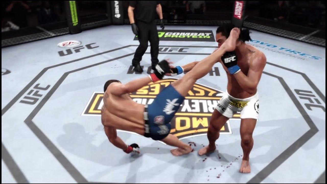 EA SPORTS™ UFC® - Anthony Pettis vs Benson Henderson - Capoeira ...
