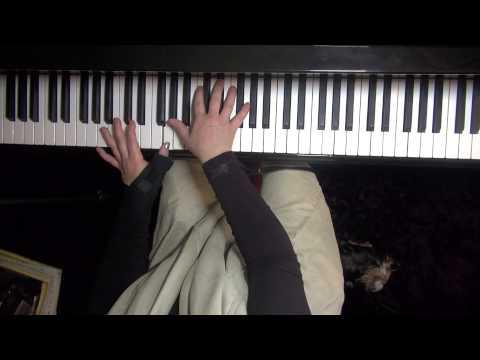 1.Bohemian Rhapsody - Virtuosic Piano Solo - arranged by Jarrod Radnich. Slow Tutorial. Lesson 1.