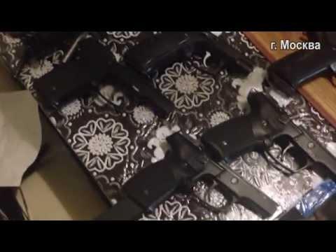В Москве накрыли сеть мастерских по незаконному изготовлению оружия