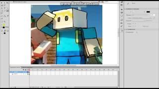 урок рисованию скинов  minecraft в adobe flash professional cs6
