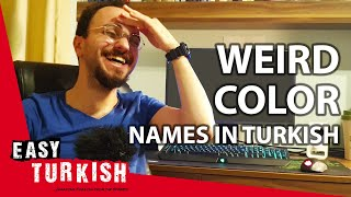 Weird Color Names in Turkish | Super Easy Turkish 11