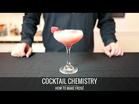 Advanced Techniques - How To Make Frosé