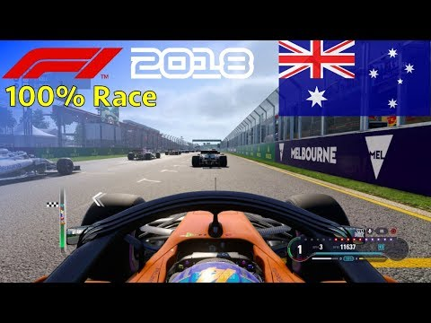 F1 2018 - Now We Can Fight With Fernando #1: 100% Race Australia