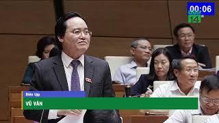 Đuổi học sinh viên bán dâm 4 lần: Bộ trưởng Bộ GD&ĐT đổ lỗi cho cấp dưới? | VTC14