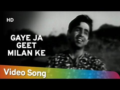 Gaye Ja Geet Milan Ke | Mela (1948) | Dilip Kumar | Nargis | Old Romantic Song