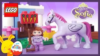 LEGO Duplo Princesse Sofia Disney - L'écurie Royale - Jouet Sofia et son cheval - Titounis