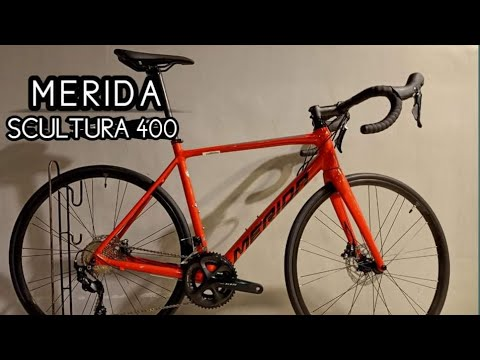 2021 MERIDA SCULTURA 400 S/M GOLDEN RED GREY