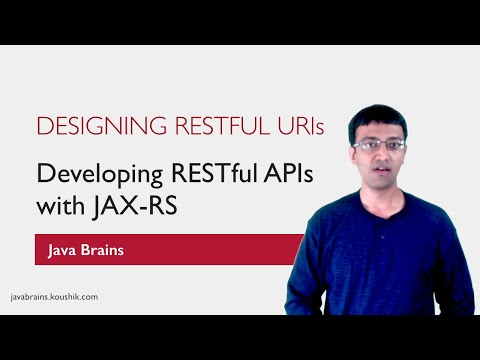 REST Web Services 03 - Resource URIs