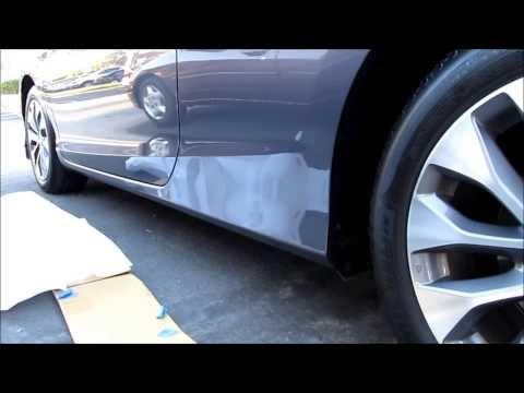 DIY 2013 2014 2015 Honda Accord Coupe & Sedan HFP side skirt installation