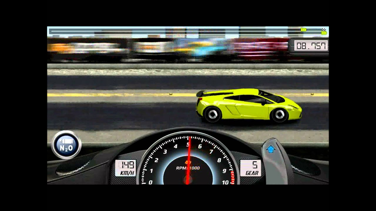 drag racing lvl 6 best car 1 4mile lamborghini gallardo. Black Bedroom Furniture Sets. Home Design Ideas