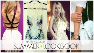 Summer LookBook + Giveaway (closed) | HAUSOFCOLOR Thumbnail