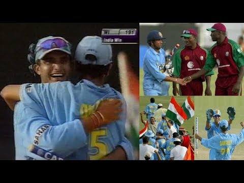 Indias First ODI Series Win in West Indies  Trinidad 2002  Dadas Army Conquer the Caribbean!!