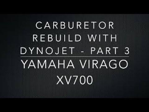 CARBURETOR REBUILD WITH DYNOJET - PART 3