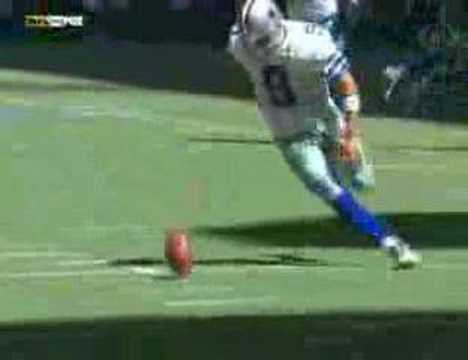 On this day 13 years ago Tony Romo picks up a bad snap 35 yards behind the LOS and runs in back for a first down vs St. Louis