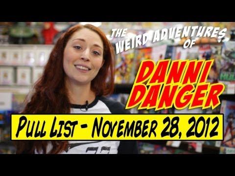Pull List for November 28, 2012