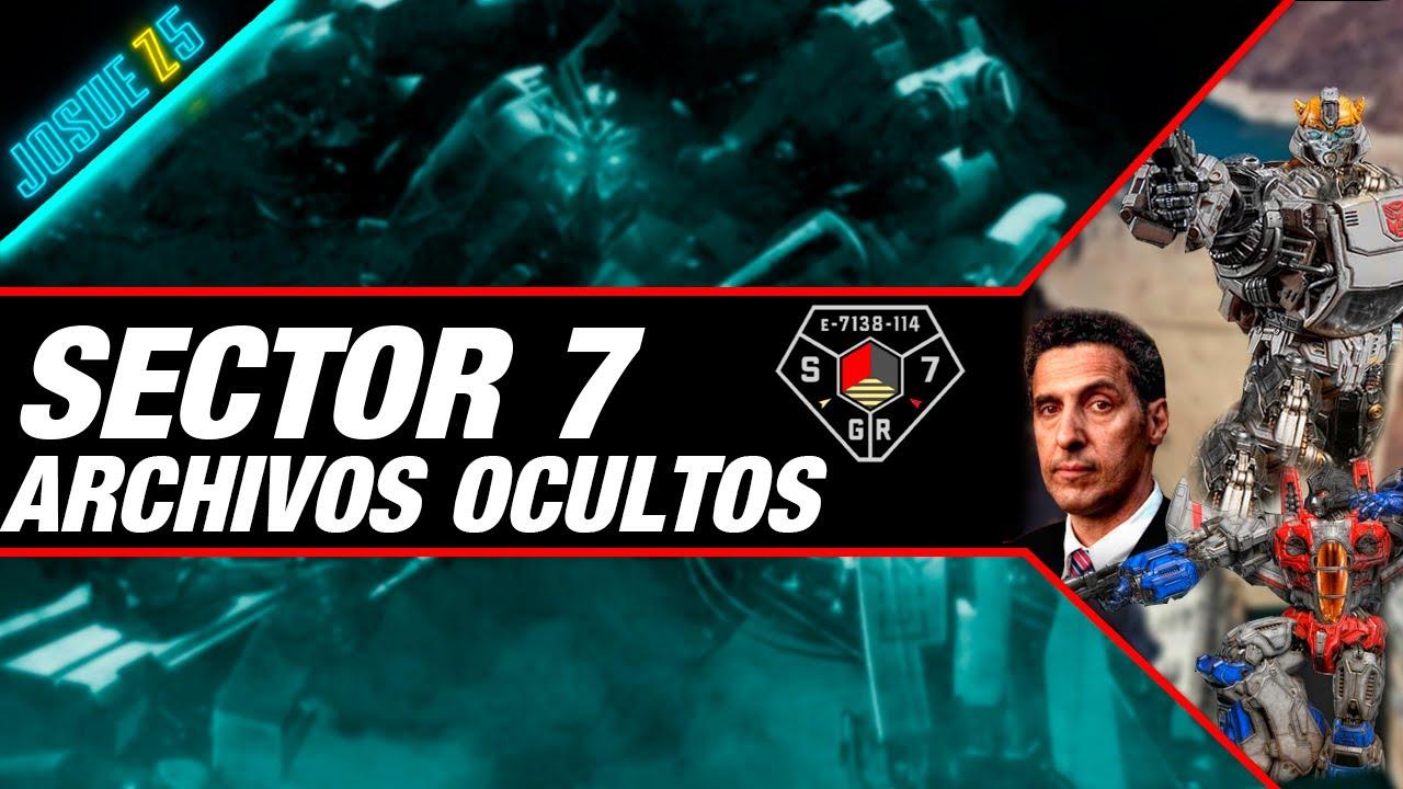 Sector 7 ARG - Los archivos ocultos del Sector 7 Transformers