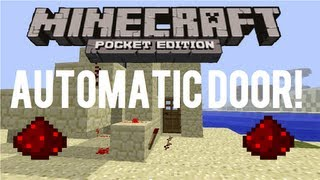 Minecraft: Pocket Edition Automatic Door