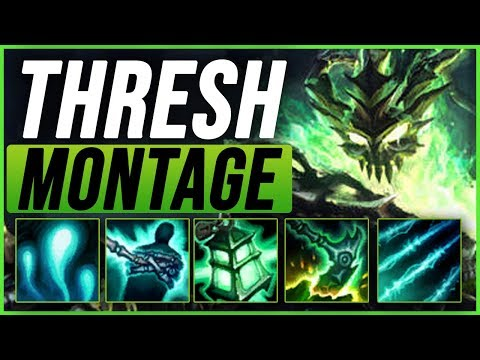 Thresh Montage - Best Thresh Plays pre-season 9 - League of Legends thumbnail