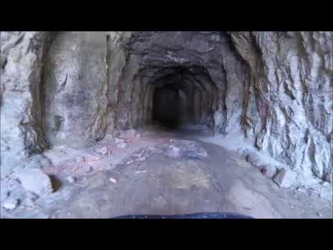Black Hills SD, OHV Trail 6021,  road to caves