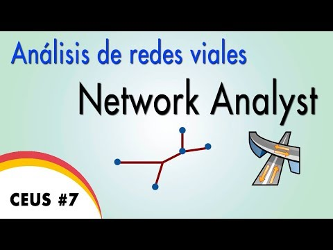 CEUS #7: Análisis de Redes Viales - Network Analyst - ArcGIS
