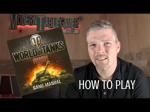 World of Tanks: Rush - Card Game -  How to Play   SE2 EP1